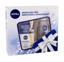Nivea Revitalizing, Anti Wrinkle, rinkinys dieninis kremas moterims, (Daily Facial Care 50 ml + Night Facial Care 50 ml + micelinis vanduo MicellAIR 200 ml)
