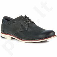 Wishot 31-208-m-gr  odiniai klasikiniai batai