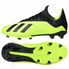 Futbolo bateliai Adidas  X 18.3 FG Jr DB2418