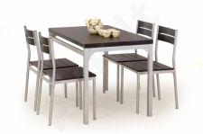 MALCOLM komplektas: stalas + 4 kėdės