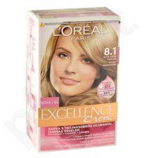 L´Oréal Paris Excellence Creme, plaukų dažai moterims, 1pc, (8,1 Natural Ash Blonde)