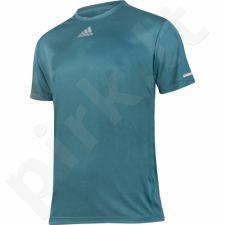 Marškinėliai bėgimui  Adidas Sequencials Climalite Running M AX7531