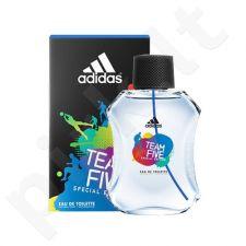 Adidas Team Five, tualetinis vanduo (EDT) vyrams, 100 ml