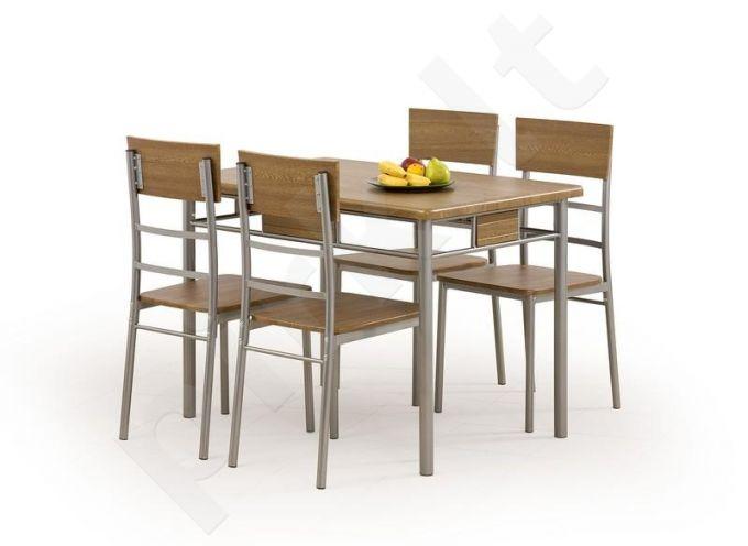 NATAN komplektas: stalas + 4 kėdės
