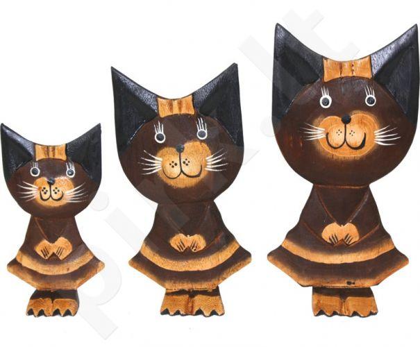 Statulėlių komplektas Trys katės 89959