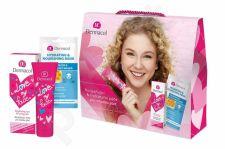 Dermacol Brightening Care, Love My Face, rinkinys dieninis kremas moterims, (Daily Facial Care 50 ml + Facial Mask Hydrating & Nourishing 15 ml)