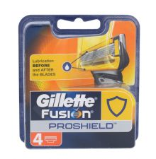 Gillette Fusion Proshield, Replacement blade vyrams, 4pc