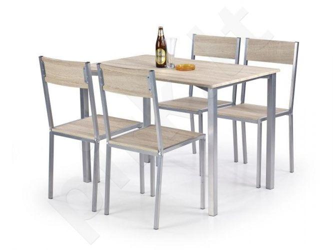RALPH komplektas: stalas + 4 kėdės