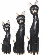 Statulėlių komplektas Trys katės 95552
