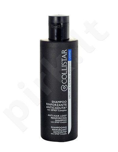 Collistar Vyrams, apsaugos nuoplaukų slinkimo, stiprinamasis šampūnas, kosmetika vyrams, 250ml