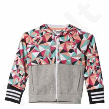 Bliuzonas  Adidas Rock It Allover OP Hooded Track Top Junior AJ6223