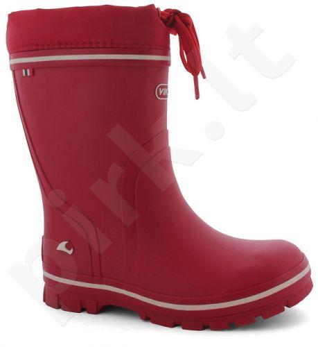 Natūralaus kaukmedžio šilti guminiai batai vaikams VIKING NEW SPLASH WARM(1-16160-10)