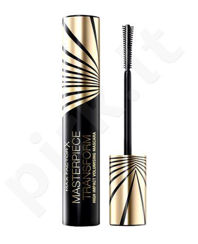 Max Factor Masterpiece Transform blakstienų tušas, kosmetika moterims, 12ml, (Black Brown)