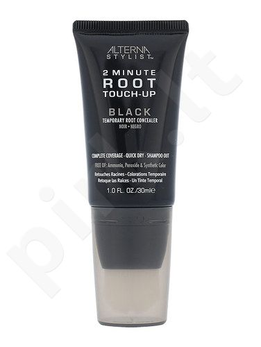 Alterna Stylist 2 Minute Root Touch-Up Plaukų Maskuoklis, kosmetika moterims, 30ml, (Black)