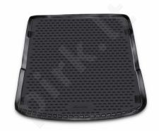 Guminis bagažinės kilimėlis AUDI Q7 2005-2015 (5 seats) black /N03009