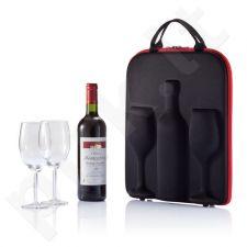 Vyno krepšys su taurėmis Swirl