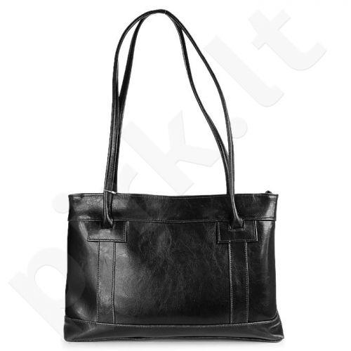 DAN-A T75 juoda rankinė iš natūralios odos , moteriška