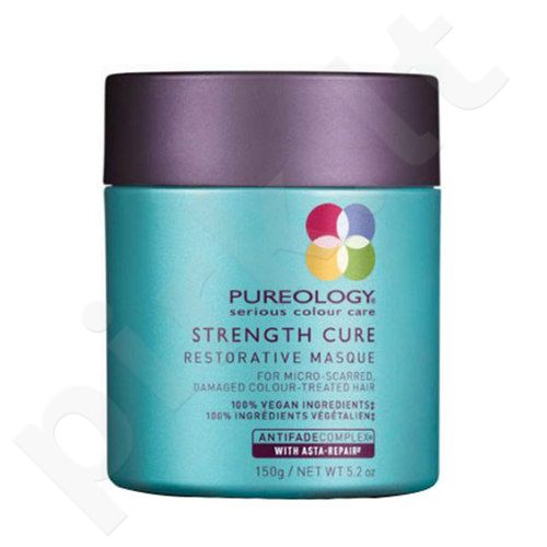Redken Pureology Strength Cure Restorative Masque, kosmetika moterims, 150ml
