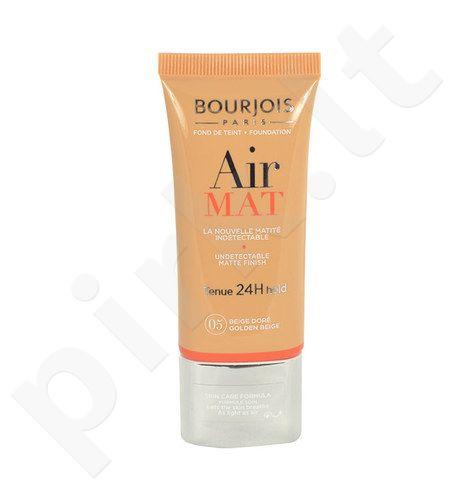 BOURJOIS Paris Air Mat Foundation SPF10, kosmetika moterims, 30ml, (02 Vanilla)