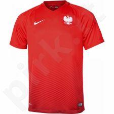 Marškinėliai futbolui Nike Polska Away Stadium M 724633-611