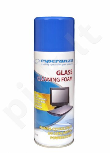 Putos stiklinių paviršių valymui Esperanza ES102 400ml