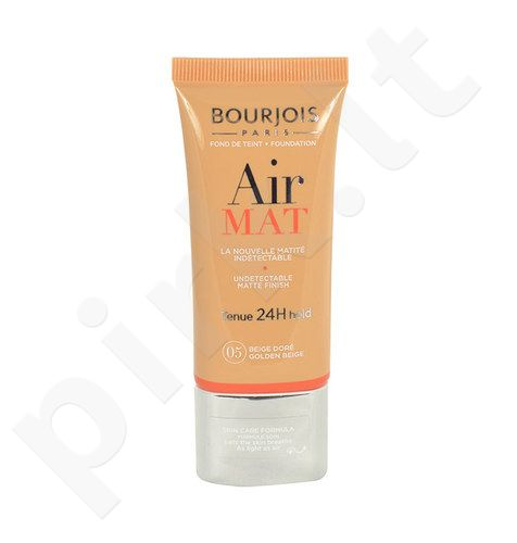BOURJOIS Paris Air Mat Foundation SPF10, kosmetika moterims, 30ml, (04 Beige)