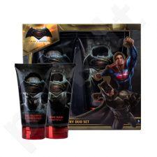 DC Comics Batman v Superman rinkinys vaikams, (dušo želė 150 ml + šampūnas & kondicionierius 2v1 150 ml)