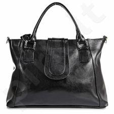 DAN-A T84 juoda rankinė iš natūralios odos , moteriška
