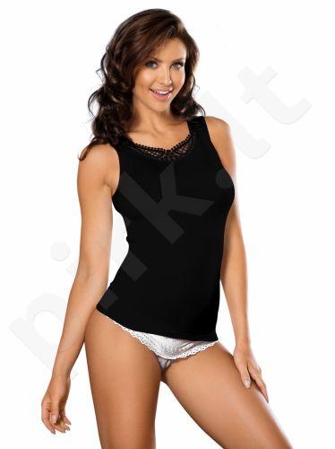Babell medvilniniai marškinėliai WIKI (juodos spalvos)