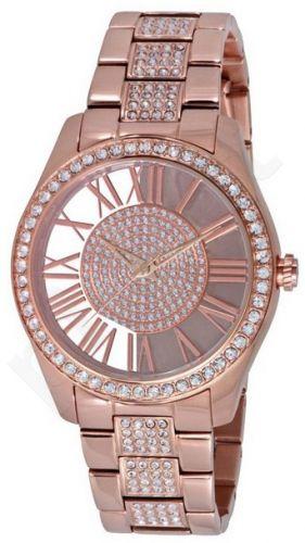 Laikrodis KENNETH COLE - TRANSPARENCY moteriškas IP ROSE GOLD WITH STONES apyrankė