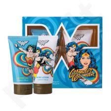 DC Comics Wonder Woman rinkinys vaikams, (dušo želė 150 ml + kūno losjonas 150 ml)