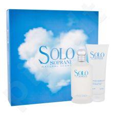 Luciano Soprani Solo, rinkinys tualetinis vanduo moterims ir vyrams, (EDT 100 ml + dušo želė 100 ml)