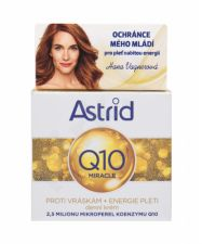 Astrid Q10 Miracle, dieninis kremas moterims, 50ml