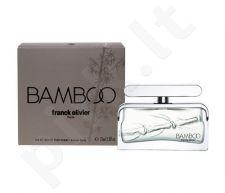 Franck Olivier Bamboo, tualetinis vanduo (EDT) vyrams, 75 ml