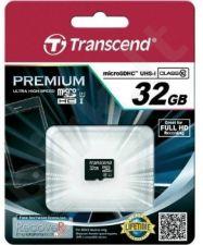 Atminties kortelė Transcend microSDHC 32GB UHS1