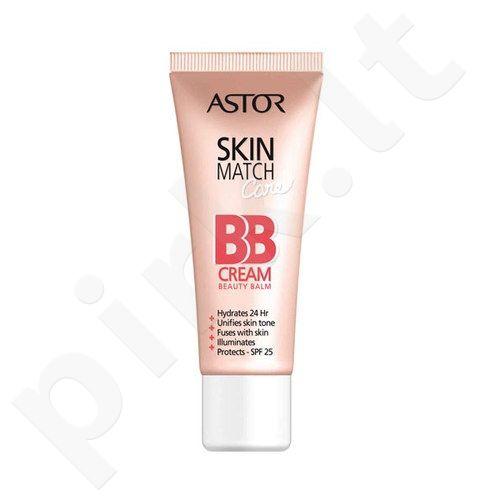Astor Skin Match Care BB Cream, 50ml, kosmetika moterims  - 100 Ivory