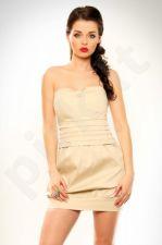3220-2 Suknelė kreminė