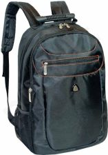 Backpack KERRY 8369 15,6'' computer, 2xpocket, 2xnet pocket,  black