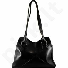 DAN-A T94 juoda rankinė iš natūralios odos , moteriška