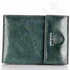 KRENIG Classic 12034 tamsiai žalio atspalvio odinis dėklas kortelėms