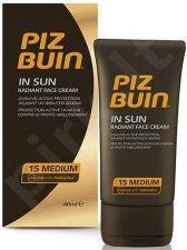 PIZ BUIN In Sun, Face Sun Care moterims ir vyrams, 40ml