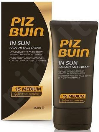 Piz Buin In Sun Face Cream SPF15, 40ml