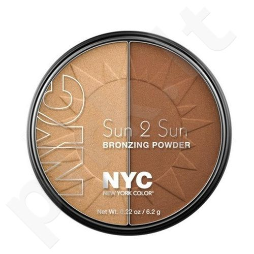NYC New York Color Sun 2 Sun Bronzing pudra, kosmetika moterims, 6,2g, (719A Terracotta Tan)