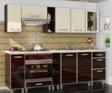 Virtuvės komplektas OLA blizgi