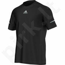 Marškinėliai bėgimui  Adidas Run Tee M S03011
