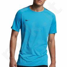 Marškinėliai futbolui Nike Breathe Squad TOP SS M 859850-434
