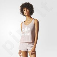 Marškinėliai adidas Originals Trefoil Crop Tank Top W BP9379
