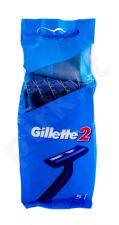 Gillette 2, skutimosi peiliukai vyrams, 5pc