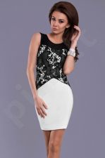 Emamoda suknelė - balta 8306-3 M dydis