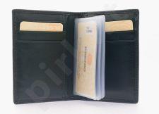 KRENIG Classic 12073 tamsiai žalio atspalvio odinis dėklas kortelėms